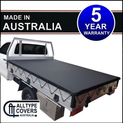 Stretch Rope Tray Tonneau Cover - Alltype Covers Australia