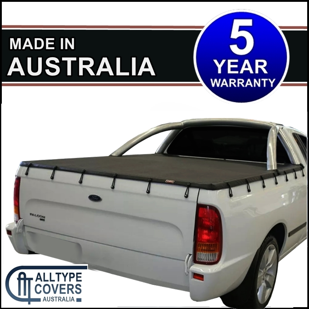 Alltype Covers Australia - Ford Falcon AU-BA-BF tonneau Cover (with sportsbars)