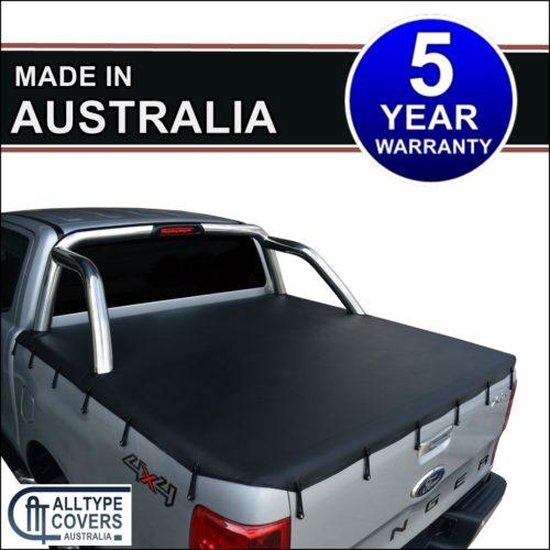 Alltype Covers Australia - Ford Ranger PX Dual Cab XLT soft tonneau cover tarp