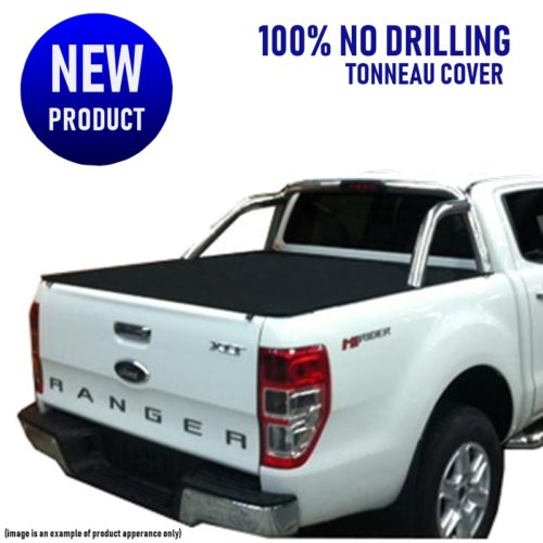 Ford Ranger PX XLT UTe (No Drill) Clip On Tonneau Cover