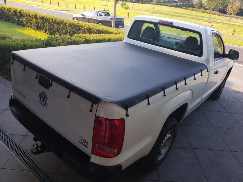 Alltype Covers Australia - Mobile tonneau installation for a VW Amarok single cab