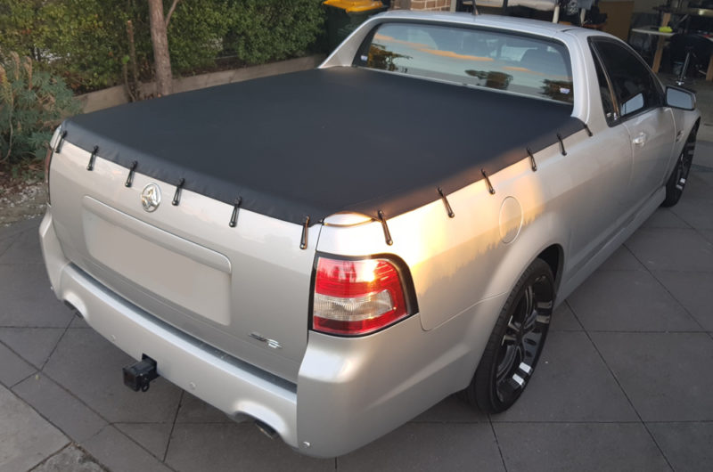 Custom Made Holden Commodore VE Tonneau Cover - Bunji Syle