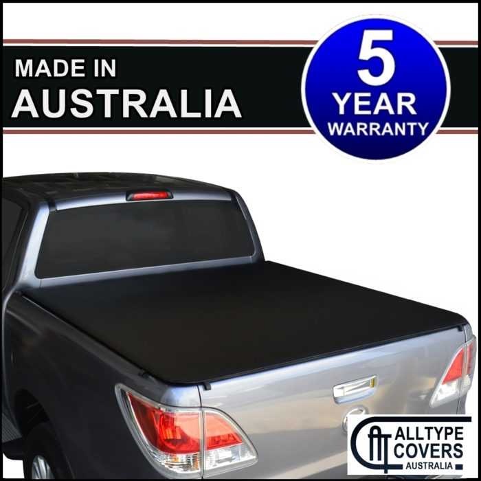 Mazda BT-50 (November 2011 to 2018) Dual Cab Clip-on Ute Tonneau Cover Tarp