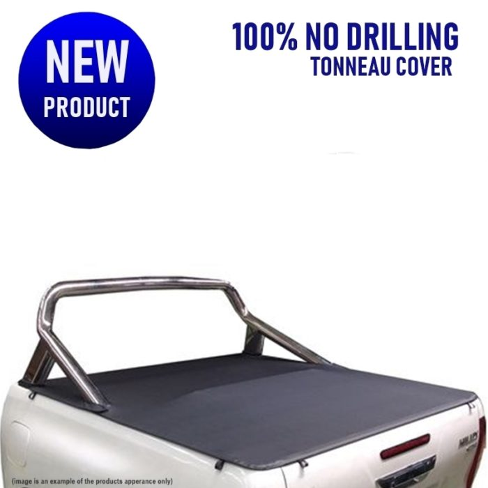Toyota Hilux SR5 Dual Cab Ute (No Drill) Clip On Tonneau Cover
