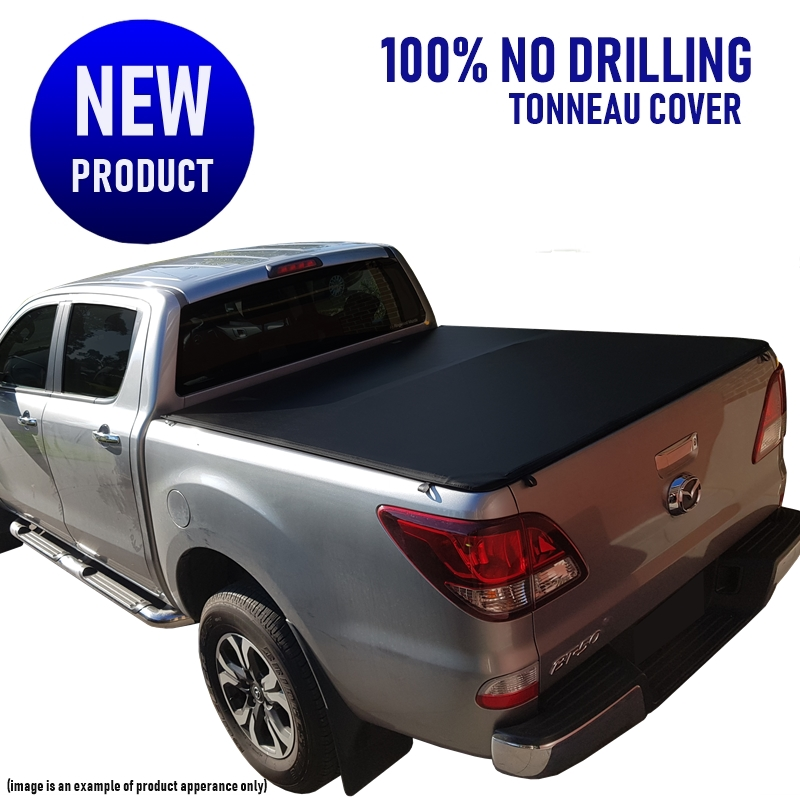 Mazda BT-50 Dual Cab Ute (No Drill) Clip On Tonneau Cover