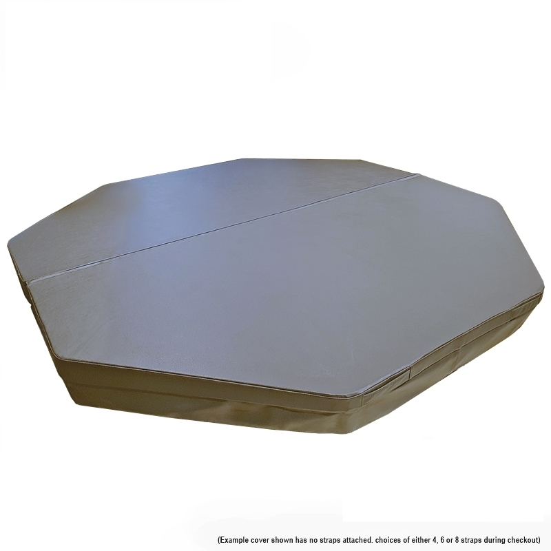 Australian Made Spa Covers -Octagon -Premium-Ultimate