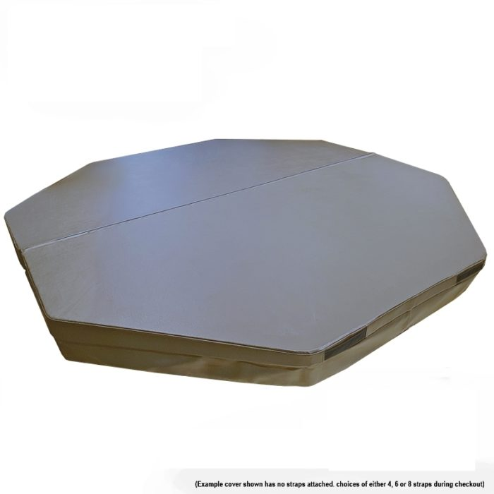 Australian Made Spa Covers -Octagon Shape Standard