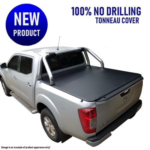 Nissan Navara NP300 D23 Dual Cab Ute Tonneau Cover no drill